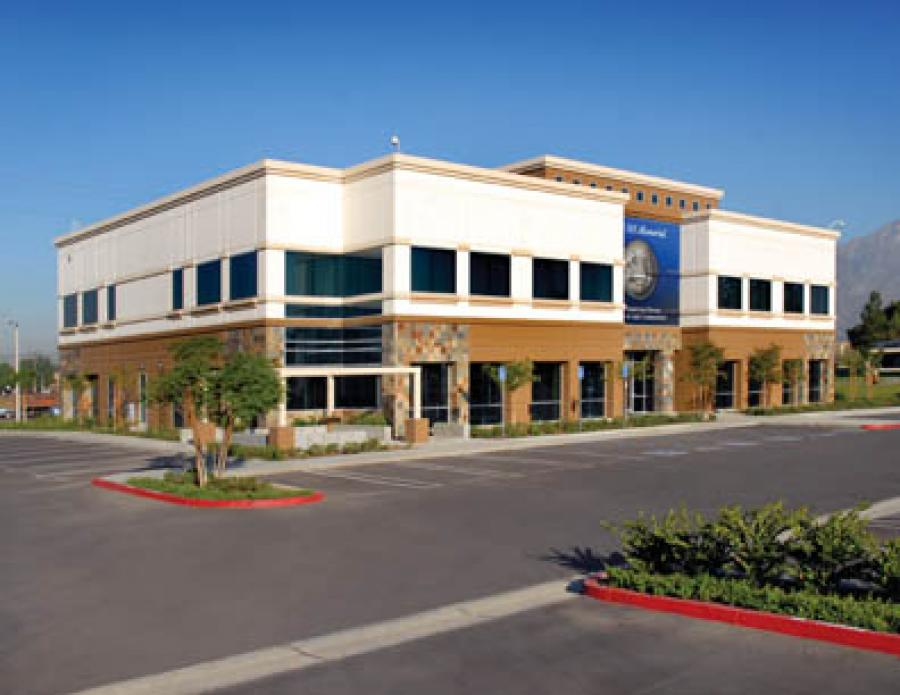 This Was One Of Fullmeru0027s Smaller Office Projects, But Architecturally And  Visually One Of The Most Unique. Located In Rancho Cucamonga On Haven  Avenue, ...
